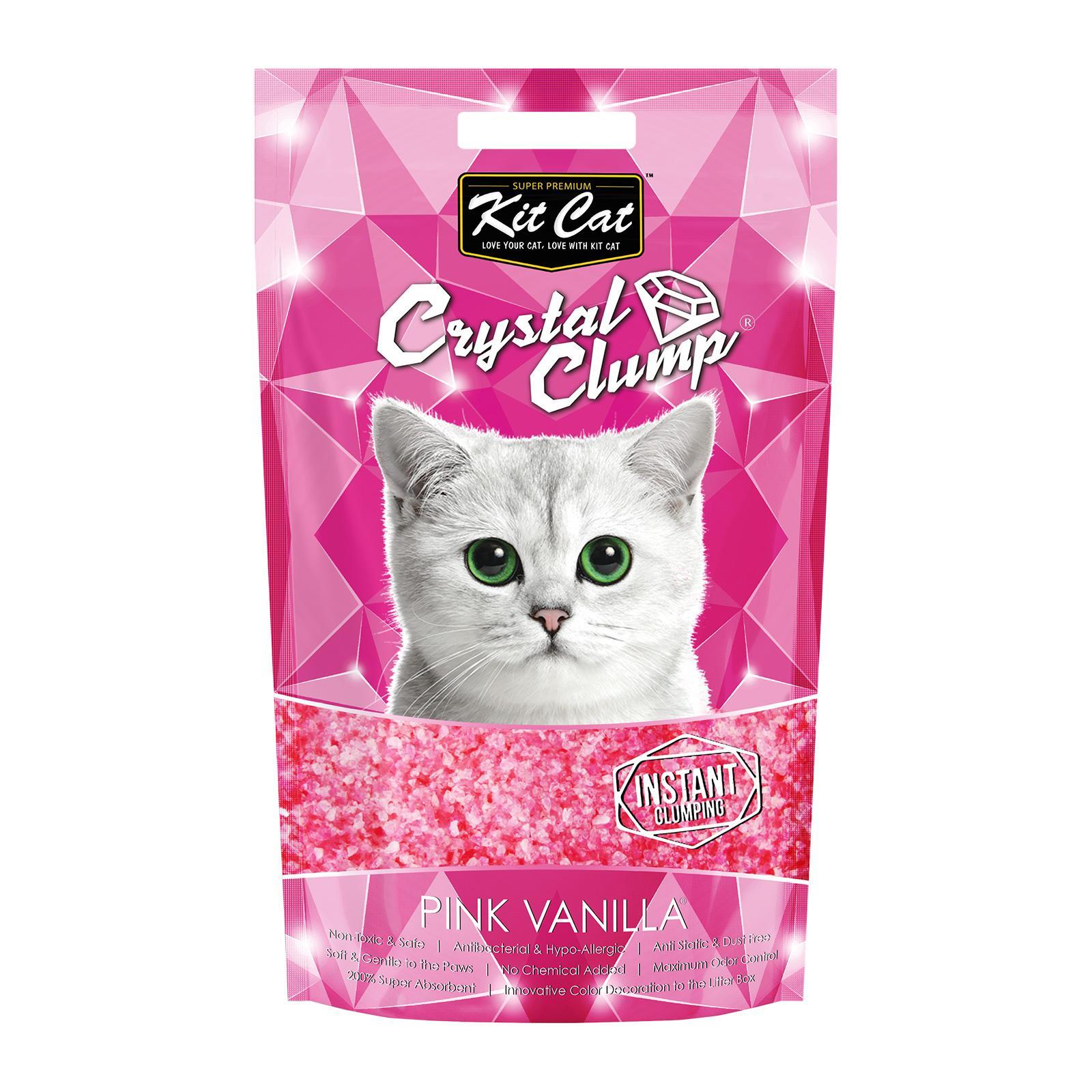 Cát vệ sinh cho mèo Crystal Clump 3.8kg
