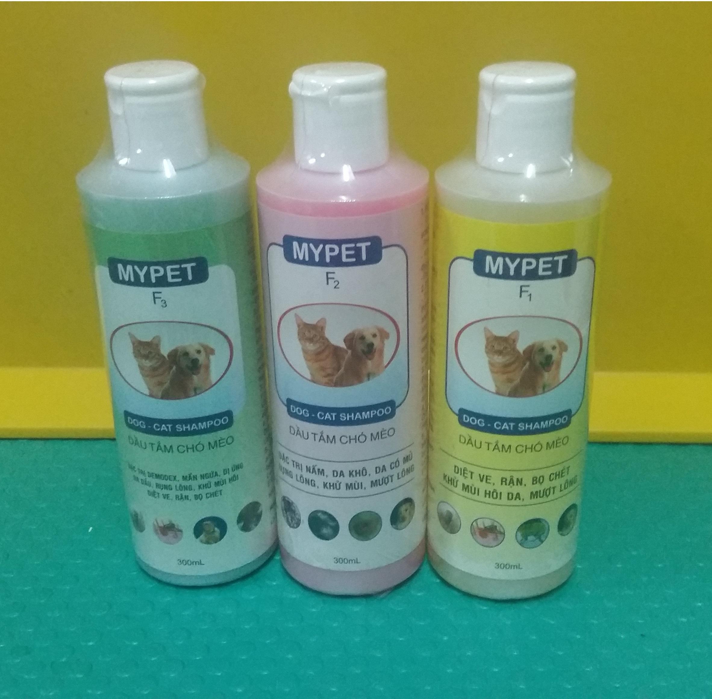 Dầu tắm chó mèo MyPet F1