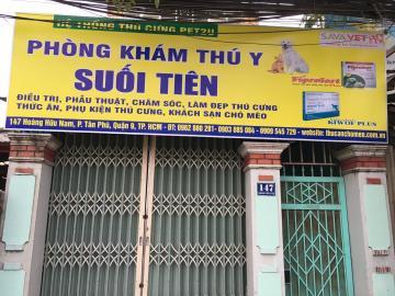 Phòng khám thú y Suối Tiên (147 Hoàng Hữu Nam, Quận 9)